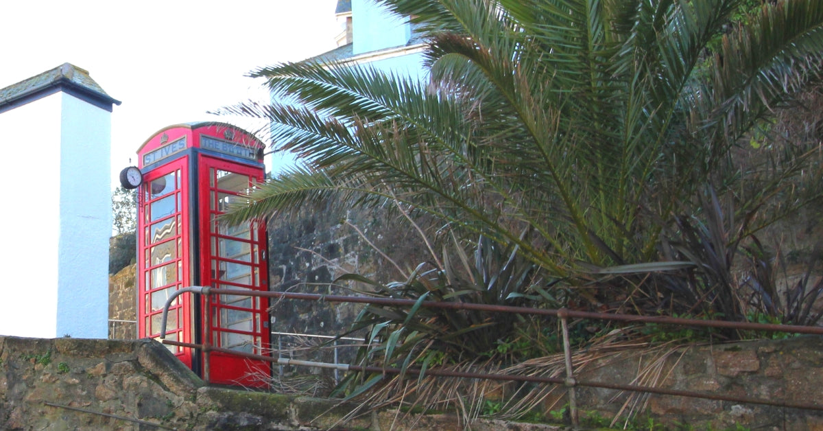 The Red Telephone Boxes Of St Ives