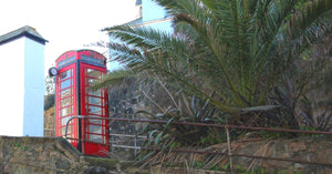 Red Telephone Kiosk The Booth St Ives Cornwall