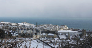Snow In St Ives Cornwall