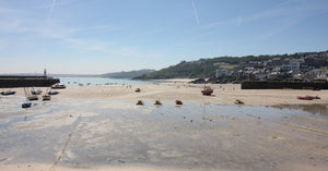 St Ives Harbour Beach Cornwall