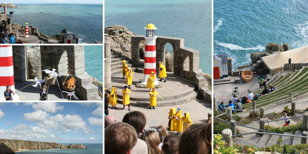 The Lighthouse Keepers Lunch - The Minack, Porthcurno