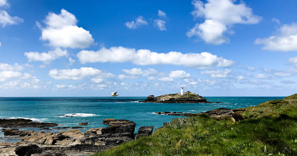 Godrevy Lighthouse St Ives Cornwall