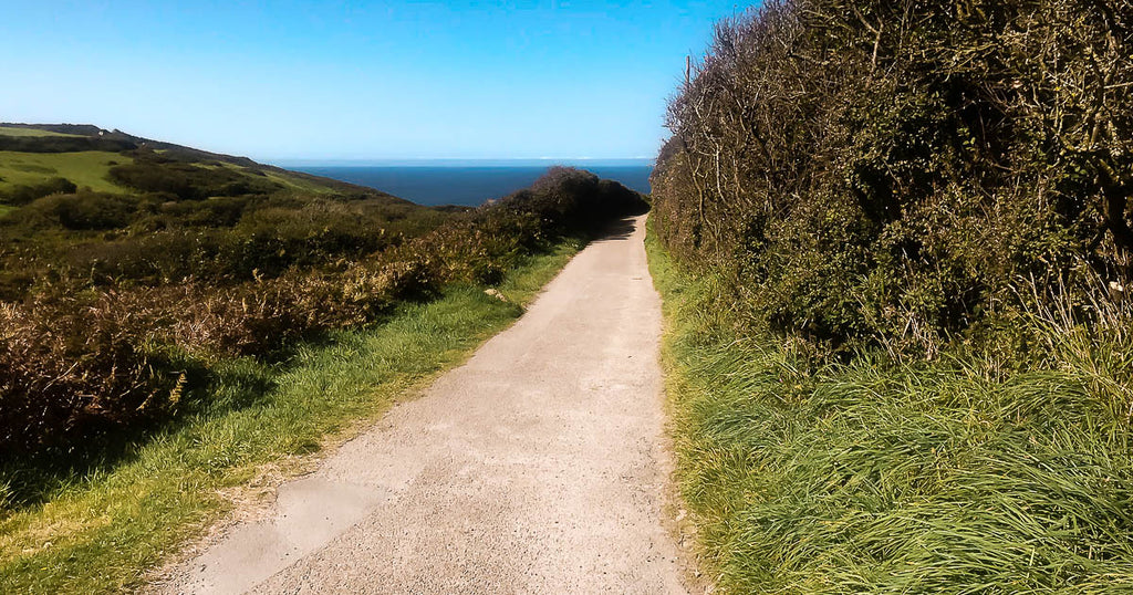 Zennor Path St Ives Cornwall