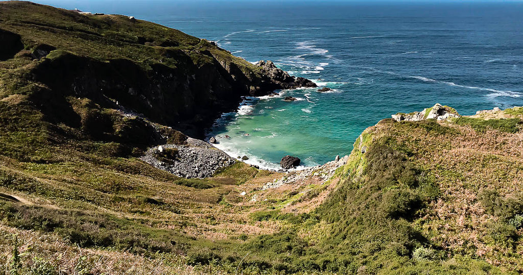 Veor Cove Zennor St Ives Cornwall Walk