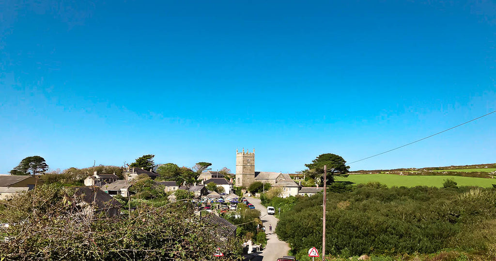 Zennor Church St Ives Cornwall
