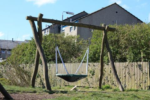Ayr Field Play Park St Ives Cornwall Bucket Swing