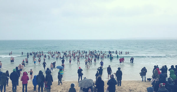 Things To Do In Winter In Cornwall - Go For A Swim In The Sea