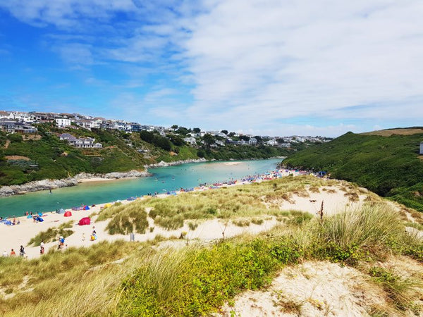 Crantock Beach Newquay Cornwall The Gannell