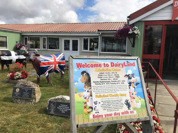 Dairyland Farm World Newquay Cornwall Entrance