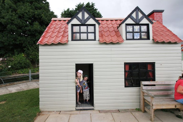 Dairyland Farm World Newquay Cornwall Play House