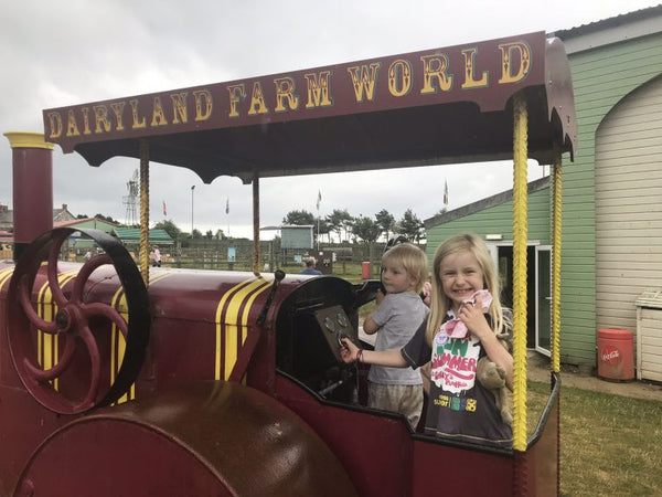 Dairyland Farm World Newquay Cornwall Play Tractor
