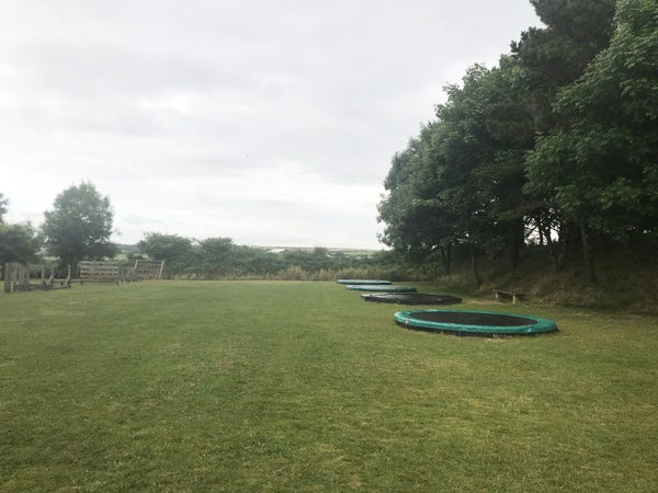 Dairyland Farm World Newquay Cornwall Trampolines