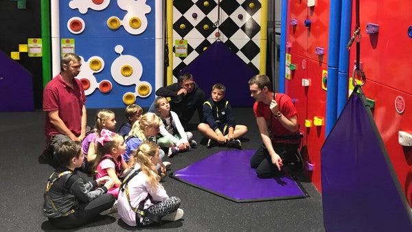 Gwel An Mor Soft Play Portreath Cornwall Training For Clip And Climb
