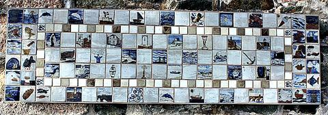 Smeaton's Pier St Ives Cornwall Leach Pottery Tiles