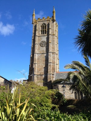 St Ives Memorial Gardens - St Ives Cornwall - St Ia Church