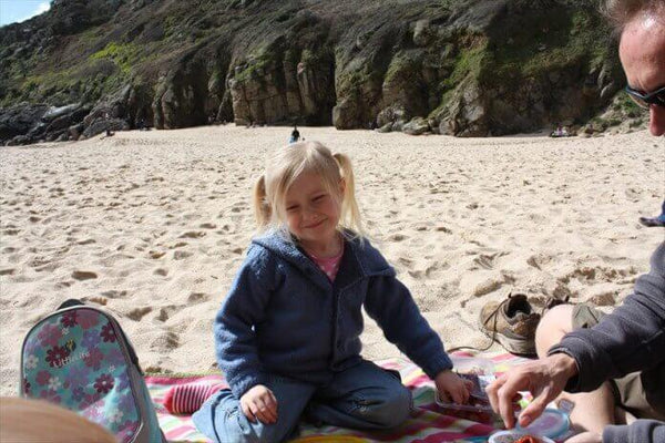 Minack Theatre Cornwall Picnic On Porthcurno Beach