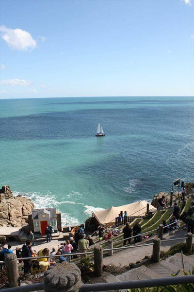 Minack Theatre Cornwall Boat View