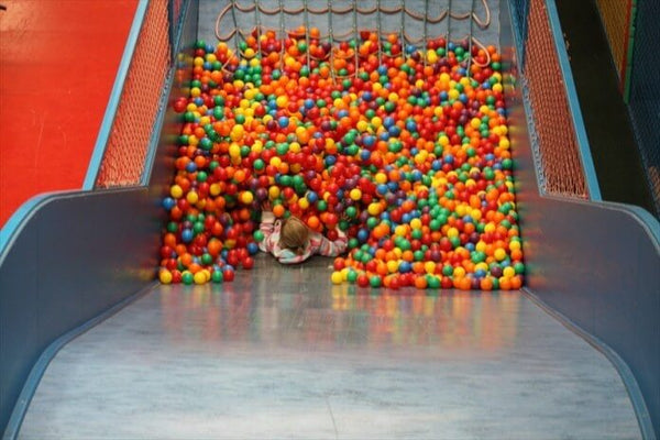 Paradise Park Soft Play Jungle Barn Balls