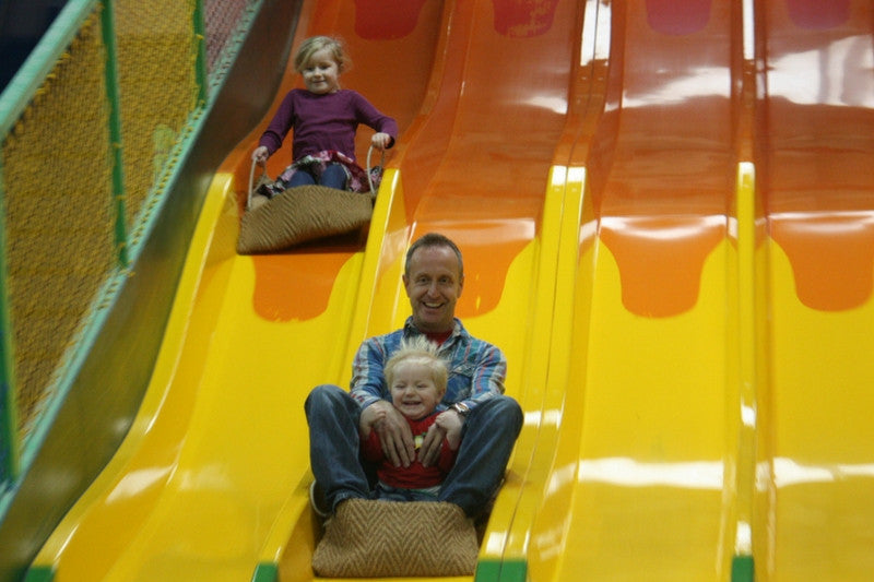 paradise park slide jungle gym st ives cornwall