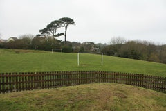 Penbeagle Park St Ives Cornwall - Playing Field For Ball Games
