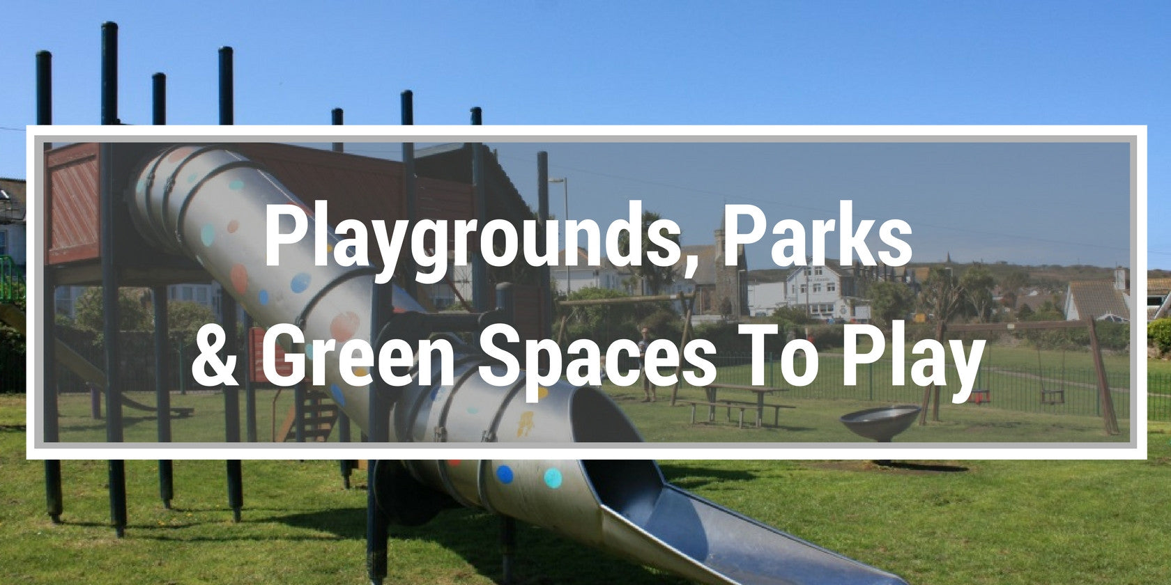 playgrounds, parks, and green spaces in St Ives Cornwall