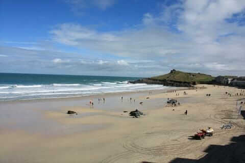 Porthmeor Beach Easter Monday