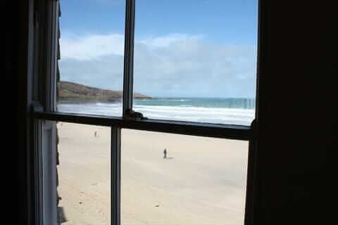 Porthmeor Studios View From The Window