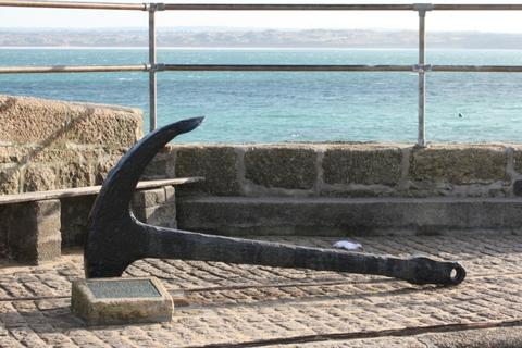 Smeaton's Pier St Ives Cornwall Cintra Anchor