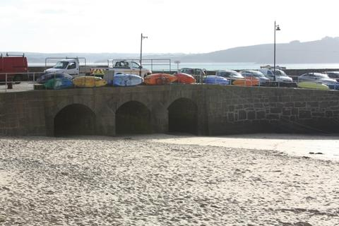Smeaton's Pier St Ives Cornwall Arches