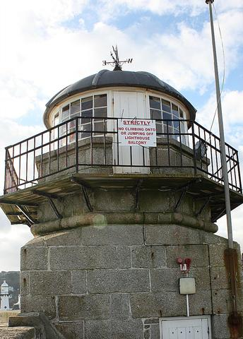 Smeaton's Pier St Ives Cornwall Old Lighthouse