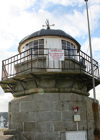 smeatons pier old lighthouse st ives cornwall