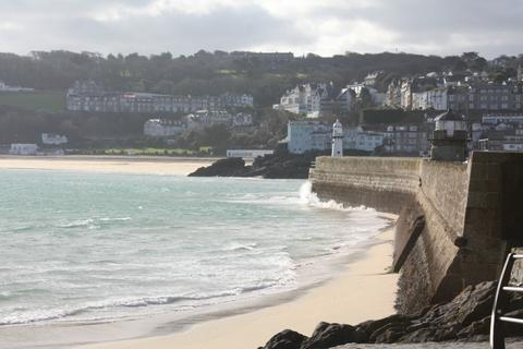 Smeaton's Pier St Ives Cornwall Beach