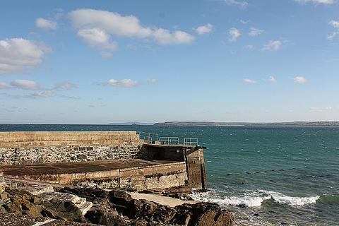 Smeaton's Pier St Ives Cornwall Wood Pier