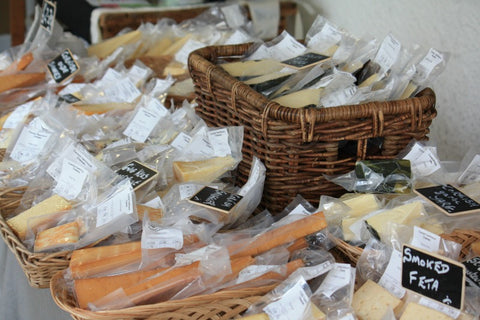 st ives farmers market cheese st ives cornwall