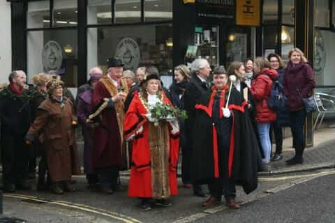 St Ives Feast Day Mayor Procession