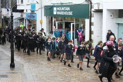 St Ives Feast Day Fore Street