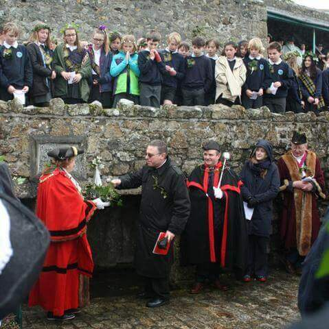 St Ives Feast Day St Eia's Well