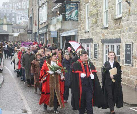 St Ives Feast Day Wharf Road