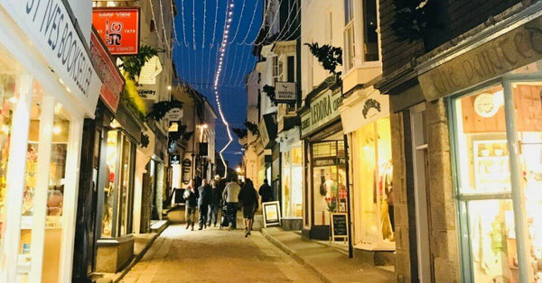 Things To Do In Winter In Cornwall - Christmas and New Years Eve St Ives Cornwall