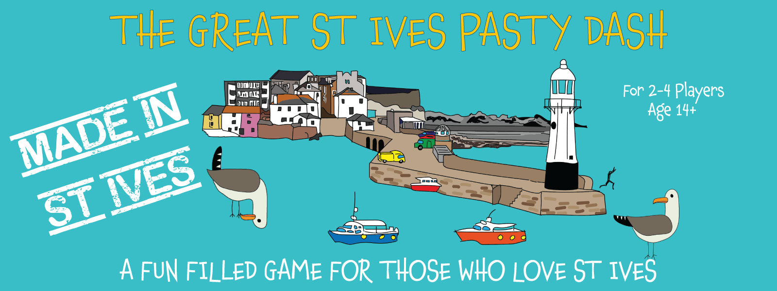 How To Play The Great St Ives Pasty Dash Game