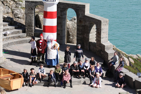 Porthcurno Beach Cornwall - The Minack Theatre - The Lighthouse Keepers Lunch Cast