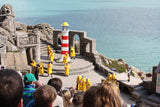 Porthcurno Beach Cornwall - The Minack Theatre - The Lighthouse Keepers Lunch - The Storm