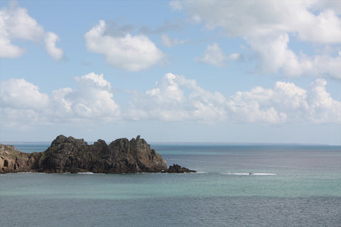 Porthcurno Beach Cornwall - The Minack Theatre - The Lighthouse Keepers Lunch - Simply Stunning View