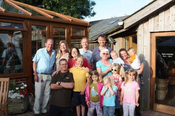 Trevaskis Farm Hayle Cornwall Family Meal