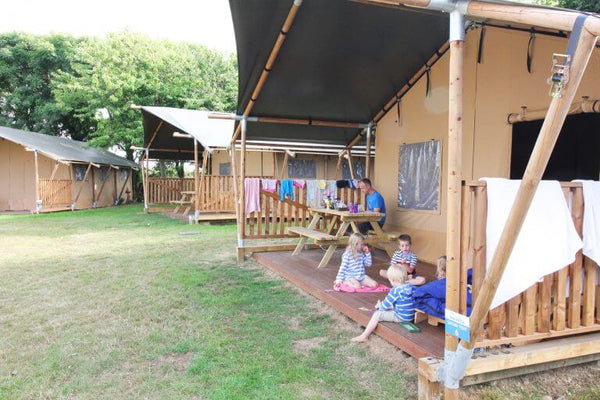 Glamping Trevella Park Cornwall - Friends