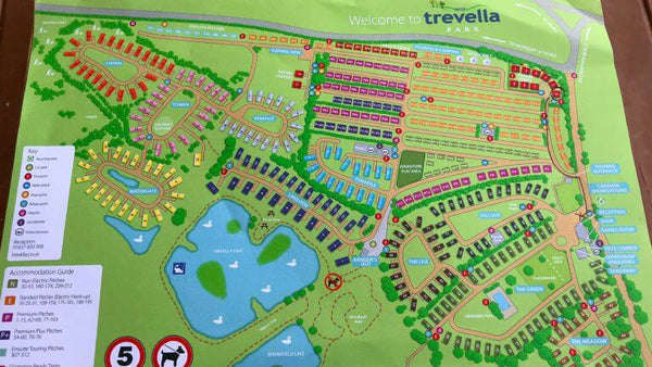Glamping At Trevella Park - Map