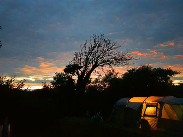 Glamping At Trevella Park - Sunset