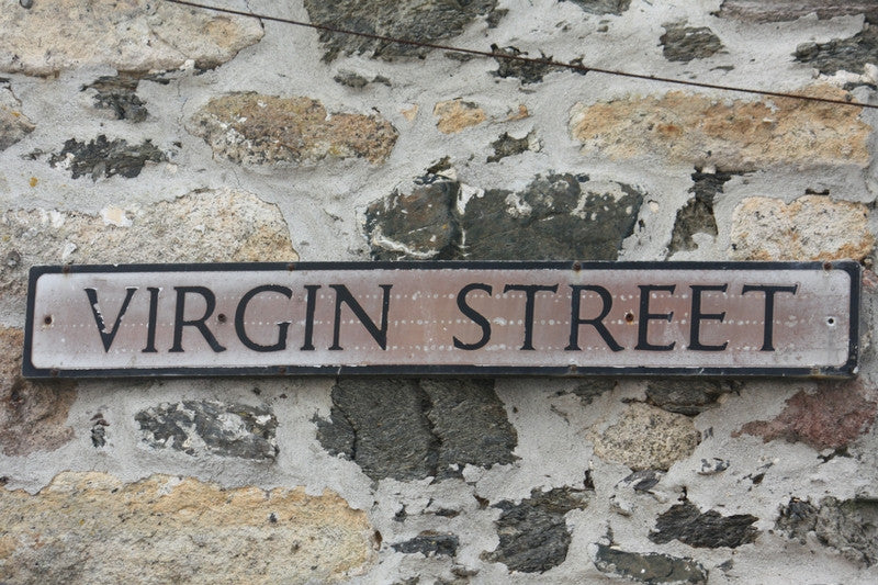 virgin street st ives cornwall - st ives street name origins