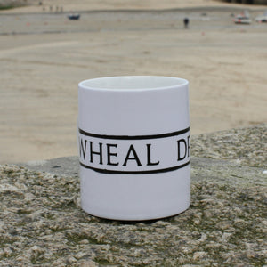 wheal dream st ives cornwall street sign mug wheal