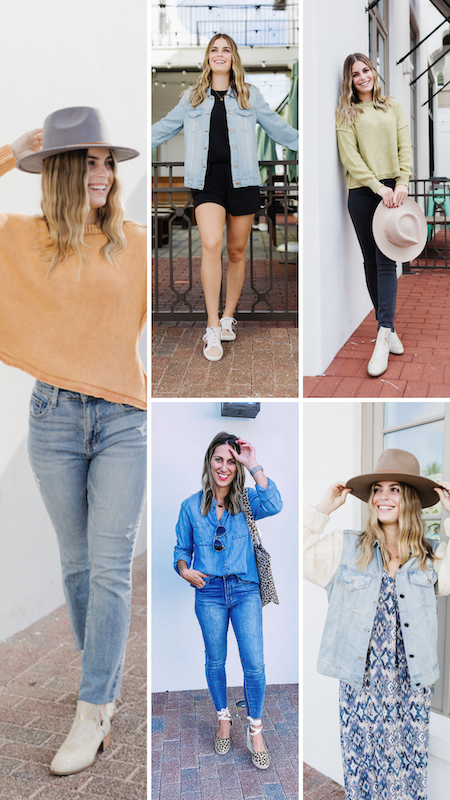Five Ways We Are Wearing Denim This Fall